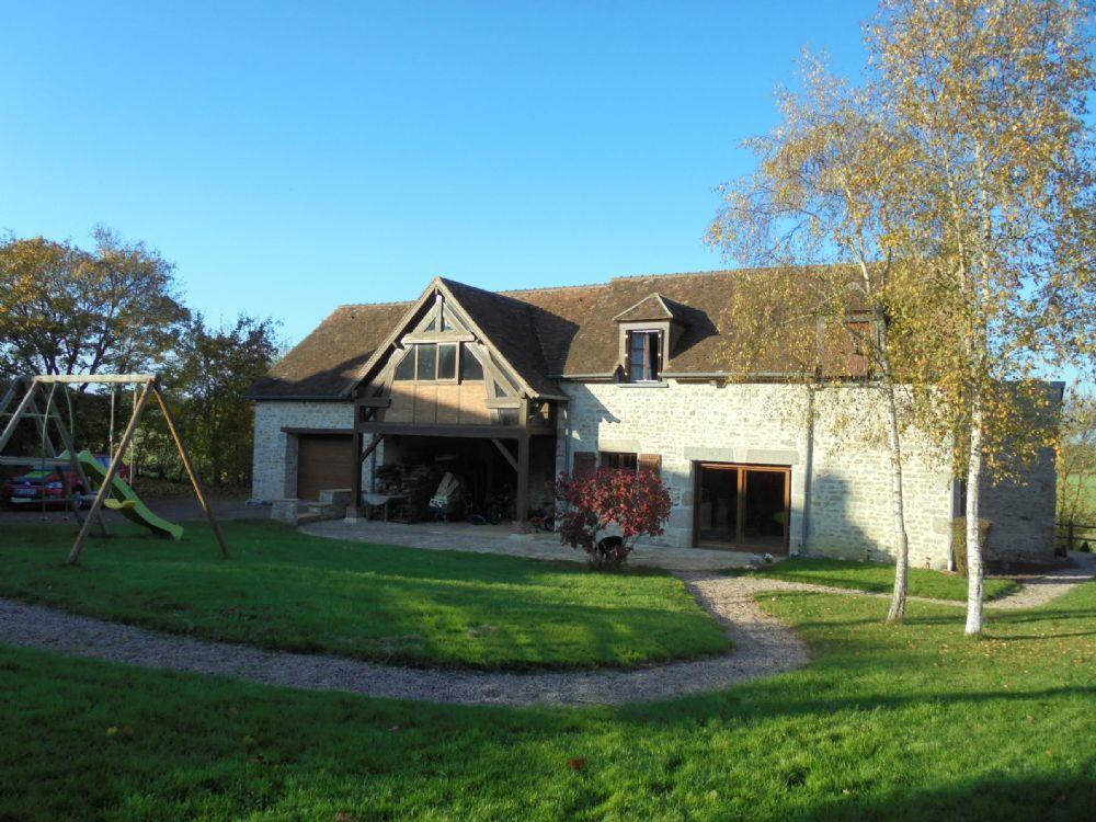 Vente maison alen on maison en pierre avec jardin et garage a vendre sortie immediate d 39 alencon - Maison jardin smoby occasion nice ...