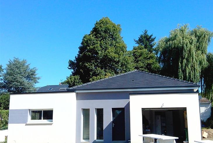 Vente pavillon le mans maison contemporaine a vendre la chapelle saint aubin proche