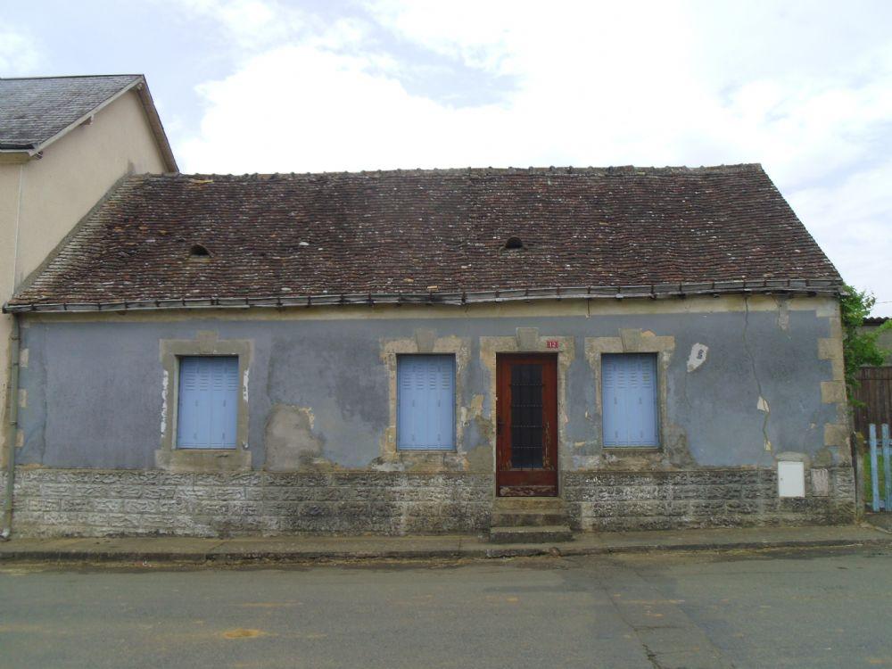 Vente maison beaumont sur sarthe maison de village avec for Jardin 8686
