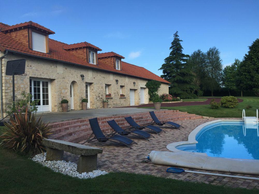 Vente maison alen on propriete avec piscine chauffee a vendre sortie nord d - Prix piscine chauffee ...