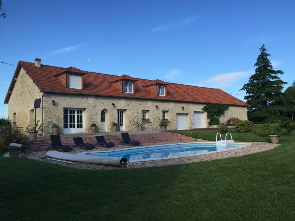 Vente maison alen on propriete avec piscine chauffee a for Prix piscine chauffee