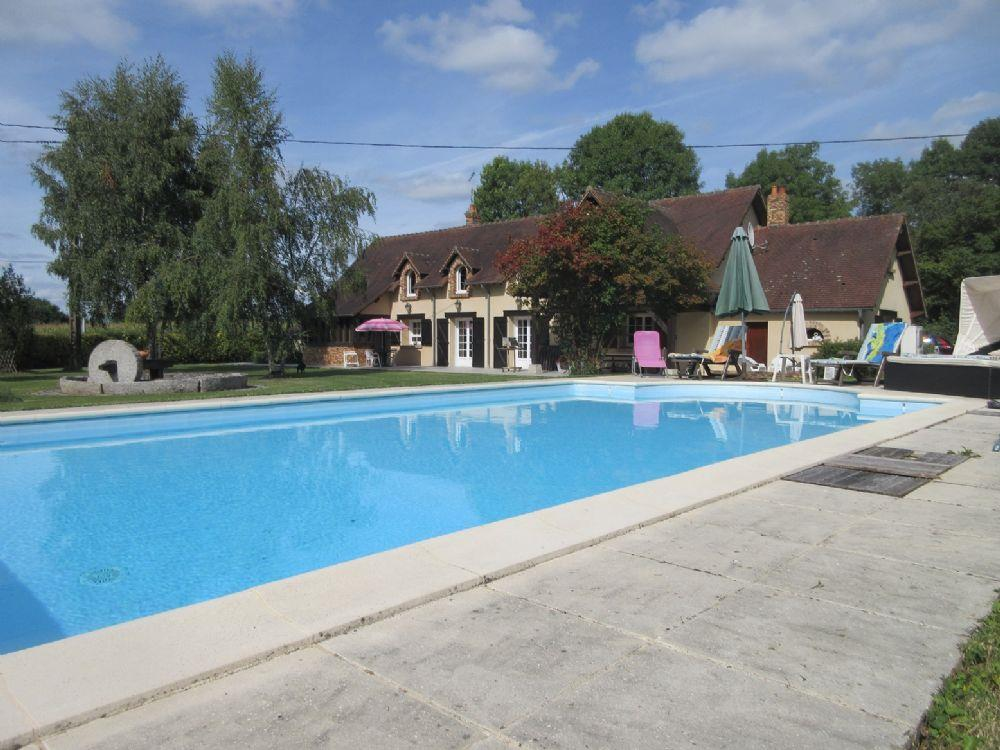 Vente maison alen on a quelques minutes d 39 alencon for Prix piscine chauffee